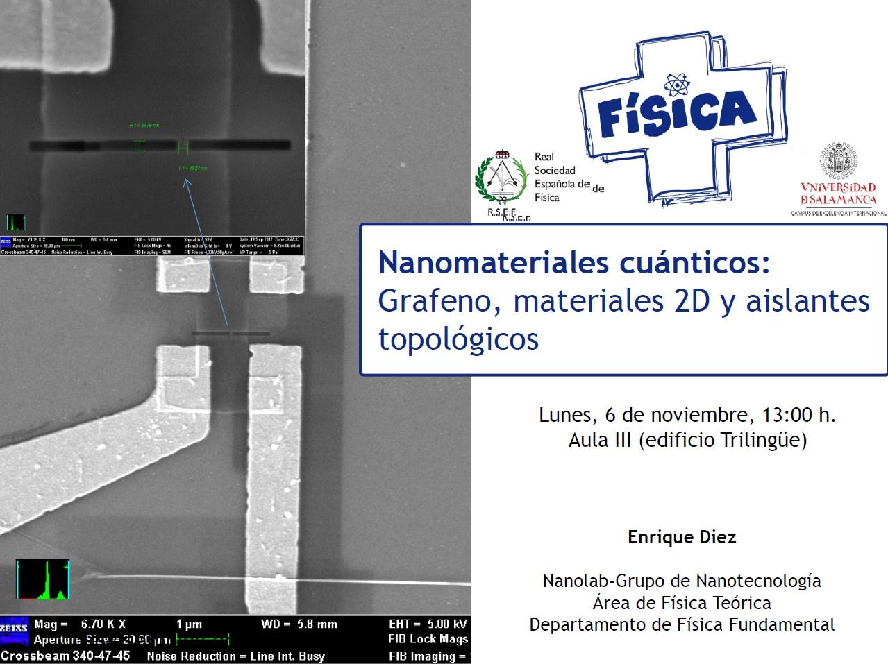 Nanomateriales 2D Charla