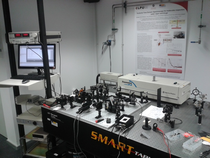 Terahertz Time Domain Spectroscopy System