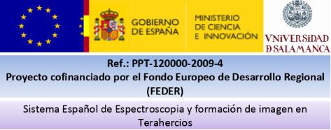 SISTEMA ESPAÑOL DE ESPECTROSCOPIA Y FORMACIÓN DE IMAGEN EN TERAHERCIOS
