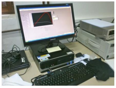 Software De Control Del Espectrómetro Realizado En LabViewTM