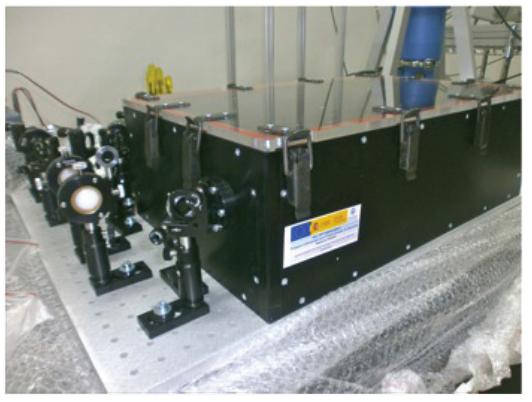 Espectrómetro Para La Generación De THz